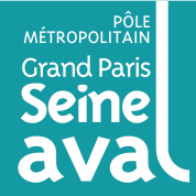 Logo du Pôle métropolitain Grand Paris Seine Aval